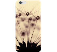 droplets of mocha iPhone Case/Skin