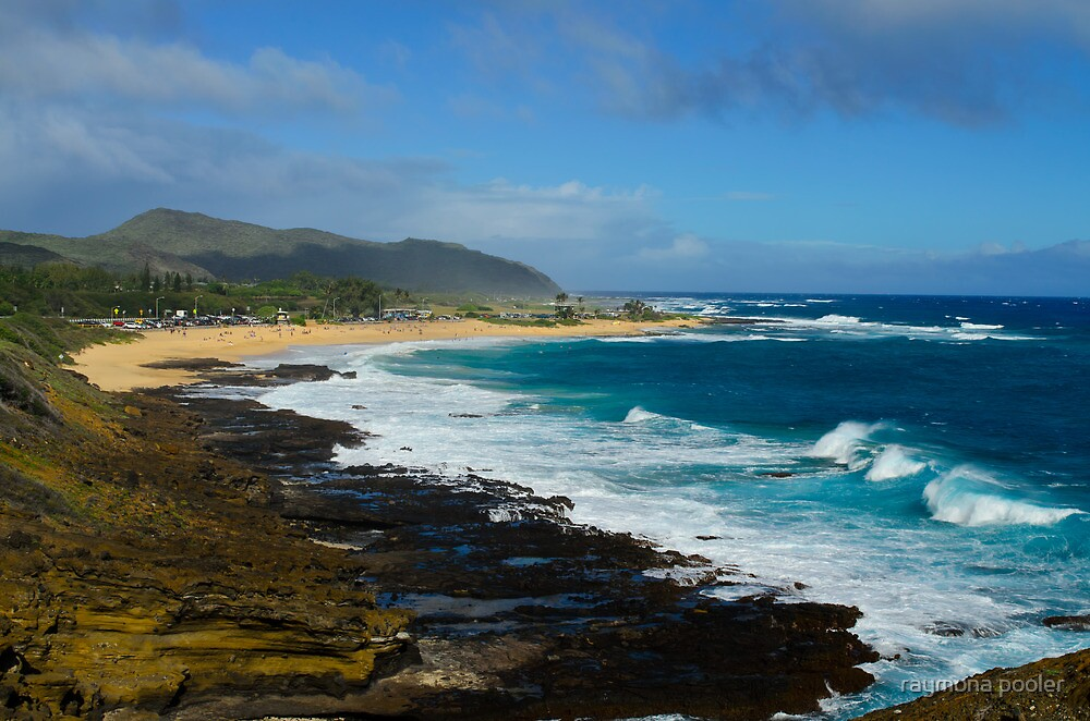 West wild side of Oahu by raymona pooler