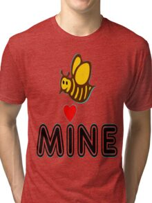 °•Ƹ̵̡Ӝ̵̨̄Ʒ♥Bee Mine-Cute HoneyBee Clothing & Stickers♥Ƹ̵̡Ӝ̵̨̄Ʒ•° Tri-blend T-Shirt