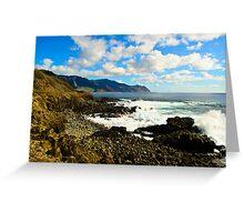 Peaceful paridise of Hawaii Greeting Card