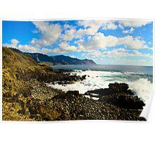 Peaceful paridise of Hawaii Poster