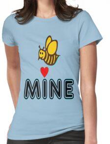 °•Ƹ̵̡Ӝ̵̨̄Ʒ♥Bee Mine-Cute HoneyBee Clothing & Stickers♥Ƹ̵̡Ӝ̵̨̄Ʒ•° Womens Fitted T-Shirt