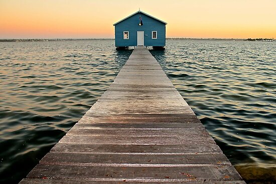 The Boat Shed by Mark  Nangle