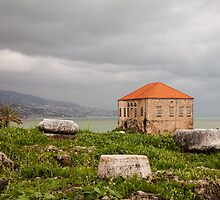 Ancient Ruins Byblos Lebanon by Joshua McDonough