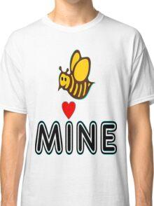 °•Ƹ̵̡Ӝ̵̨̄Ʒ♥Bee Mine-Cute HoneyBee Clothing & Stickers♥Ƹ̵̡Ӝ̵̨̄Ʒ•° Classic T-Shirt