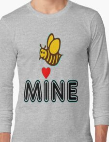 °•Ƹ̵̡Ӝ̵̨̄Ʒ♥Bee Mine-Cute HoneyBee Clothing & Stickers♥Ƹ̵̡Ӝ̵̨̄Ʒ•° Long Sleeve T-Shirt