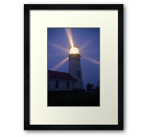 Cape Blanco Lighthouse at Night - Oregon, USA Framed Print