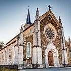 Church in French Alps, Saint-Jorioz by mcdonojj