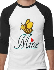 °•Ƹ̵̡Ӝ̵̨̄Ʒ♥Bee Mine-Cute HoneyBee Clothing & Stickers♥Ƹ̵̡Ӝ̵̨̄Ʒ•° Men's Baseball ¾ T-Shirt