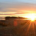Sunrise over Loch Leven by ArtByRM