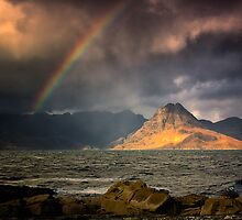 Sunlight on Sgurr na Stri by hebrideslight