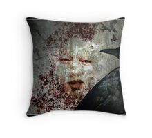 The Face Of Death Throw Pillow