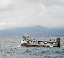 French Navy Amphibious Landing Catamaran by Joshua McDonough