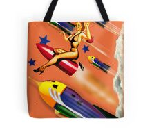 rock rock rock it to the moon! Tote Bag