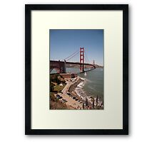 Golden Gate Bridge - San Francisco, CA (USA) Framed Print