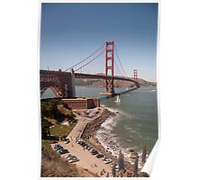 Golden Gate Bridge - San Francisco, CA (USA) Poster