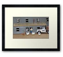 Although I'm familiar with the breed,  Larry, I don't believe I've ever seen this variety! Framed Print