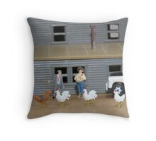 Although I'm familiar with the breed,  Larry, I don't believe I've ever seen this variety! Throw Pillow