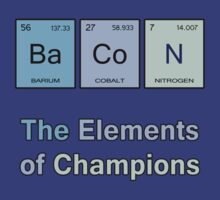 Bacon, The Elements of Champions by pixelman