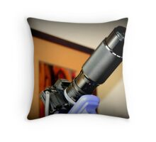 Canon F1 - Zoom 100-300mm Throw Pillow