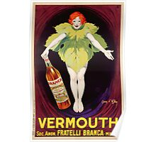 Poster advertising 'Fratelli Branca' vermouth, 1922  Poster