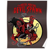 The Mouth Mercing Devil-Spawn Poster