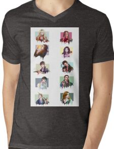 (PART 2) Once Upon a Time all characters Mens V-Neck T-Shirt