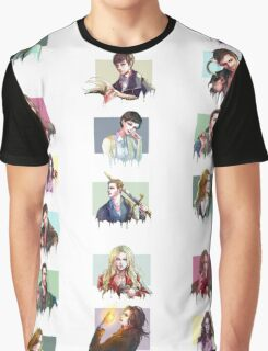 (PART 2) Once Upon a Time all characters Graphic T-Shirt
