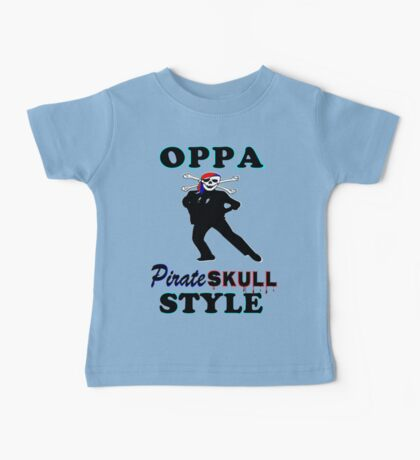 ★ټPirate Skull Style Hilarious Clothing & Stickersټ★ Baby Tee