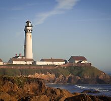 Pigeon Point Lighthouse, Highway 1 - California by Joshua McDonough Photography