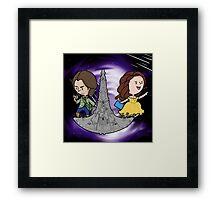 Rushbelle Doctor Rush and Belle For Destiny Framed Print