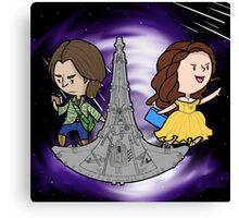 Rushbelle Doctor Rush and Belle For Destiny Canvas Print
