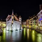 Palais de l'Isle in Annecy, France by Joshua McDonough