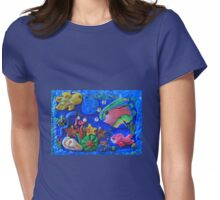 Polymer Clay Sea World Womens Fitted T-Shirt