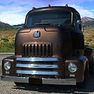 """1954 International Harvester Cab Over Pickup Truck """"Size Matters"""" by TeeMack"""