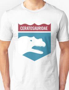 Dinosaur Family Crest: Ceratosauridae T-Shirt
