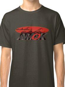 AMOK - tribal wave surfboard Classic T-Shirt