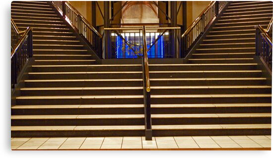 Split Stairs by phil decocco