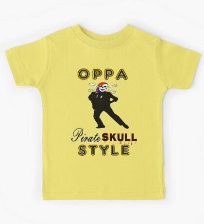 ★ټPirate Skull Style Hilarious Clothing & Stickersټ★ Kids Tee
