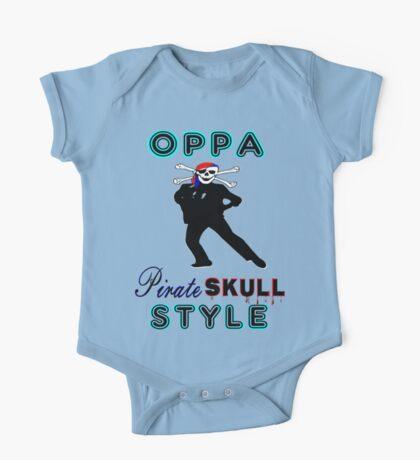 ★ټPirate Skull Style Hilarious Clothing & Stickersټ★ One Piece - Short Sleeve