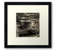 Jimmy (GMC)   Framed Print