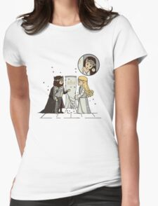 Middle Earth Love Womens Fitted T-Shirt
