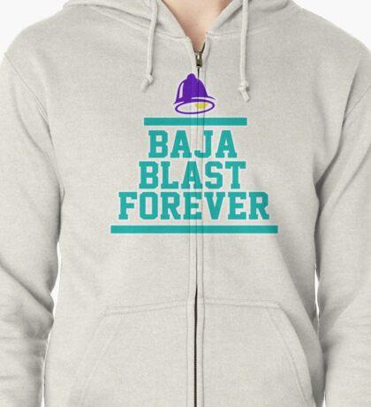 Baja 4Ever Zipped Hoodie