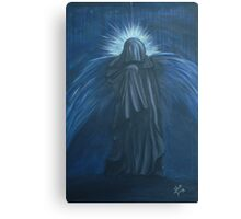 Blue Mourning Canvas Print