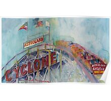 CYCLONE CONEY ISLAND Poster