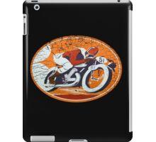 orange rider iPad Case/Skin
