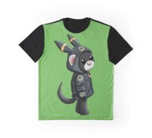 Umbreon Ferret Graphic T-Shirt