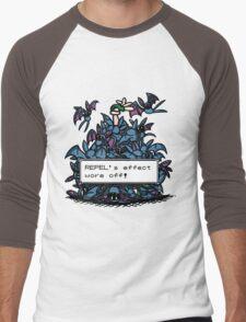 NateWantsToBattle - Repel Wore Off Men's Baseball ¾ T-Shirt