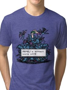 NateWantsToBattle - Repel Wore Off Tri-blend T-Shirt
