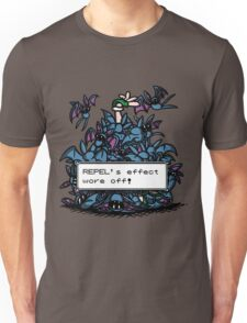 NateWantsToBattle - Repel Wore Off Unisex T-Shirt